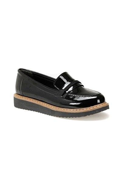 Miss F Dw19081 Siyah Kadın Loafer Ayakkabı
