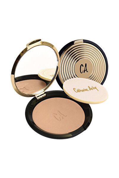 Catherine Arley Gold Pudra - Gold Compact Powder 103 8691167474845