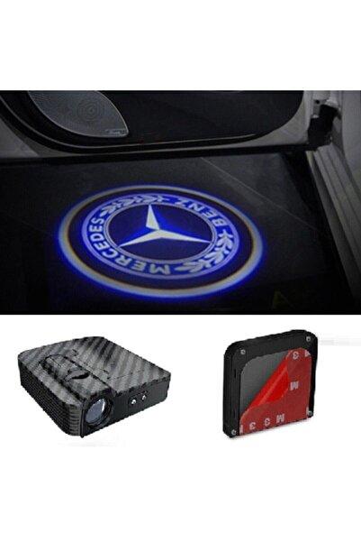 MERCEDES Kapı Altı Logo Lamba Pilli Sensörlü Kolay Montaj Sun124