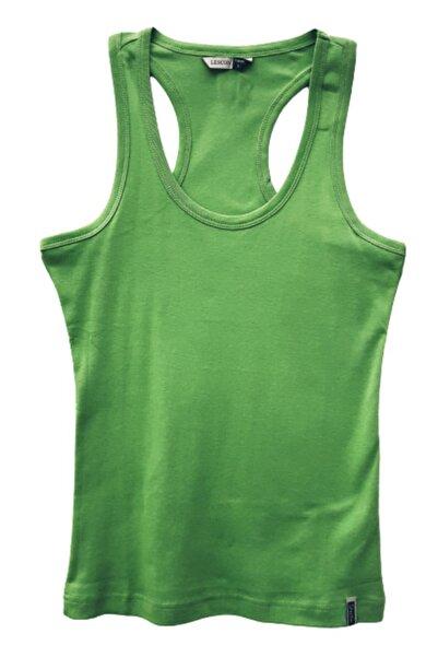 Lescon 012-2116 Açık Yeşil %100 Pamuklu Bayan Spor Atlet