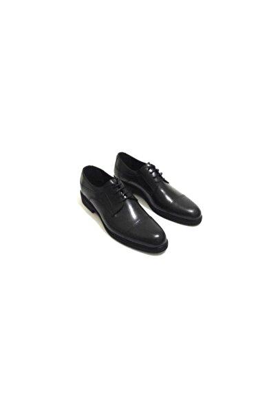 Erdem Klasik Günlük Siyah Hakiki Deri Erkek Ayakkabı