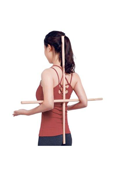 Bundera Yoga Stick Pilates Fitness Spor Aleti Vücut Esneme Gerdirme Kardiyo Egzersiz