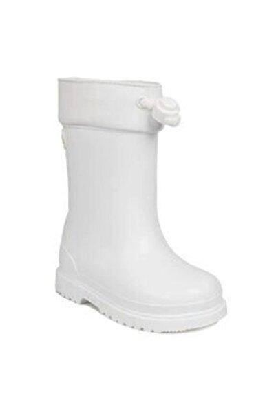 IGOR Blanco-white Çocuk Beyaz Yağmur Çizmesi