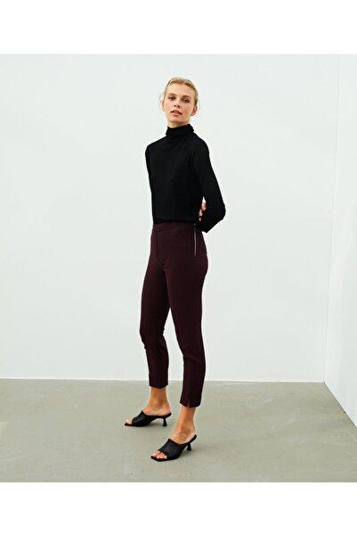 İpekyol Kadın Kırmızı Skinny Fit Pantolon