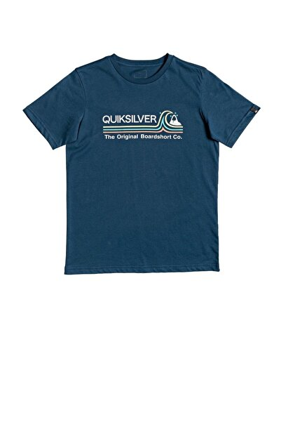 Quiksilver Stone Cold Çocuk Mavi Tişört Eqbzt04144-bsm0