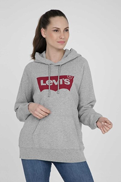 Levi's Kadın Gri Sweatshirt 35946-0003