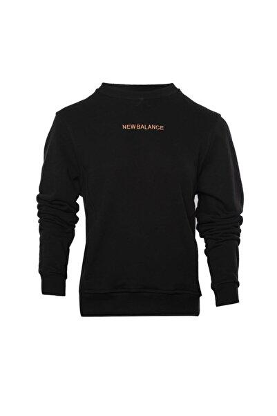 New Balance Kadın Siyah Sweatshirt Wpc029-bk