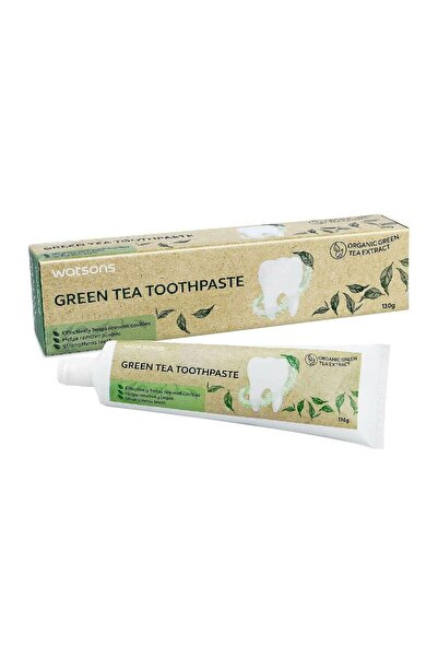Watsons Green Tea Toothpaste 130 g 4894532588374