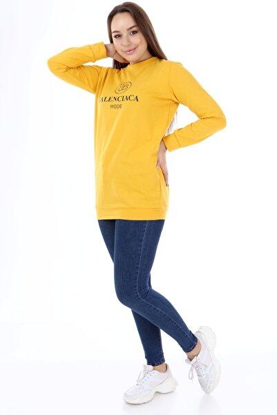 Rodi Jeans Rodi Kadın Sweat Tunik Balenciaca Mode Sweat