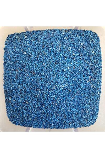 Turkuaz hediyelik Koyu Mavi Deniz Kabuğu Kumu-1 Kg
