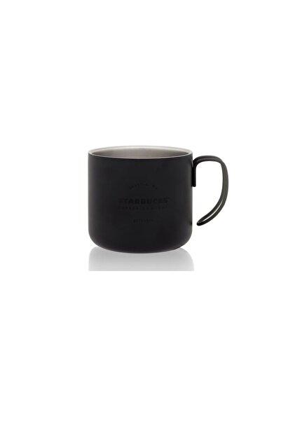 Starbucks Siyah Metal Bardak Kupa Mug