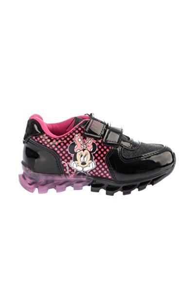 DISNEY Minnie Mouse Kız Çocuk Siyah Günlük Spor Ayakkabı