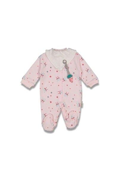 Necix's Bebe Kız Bebek Tavşanlı Havuçlu Tulum