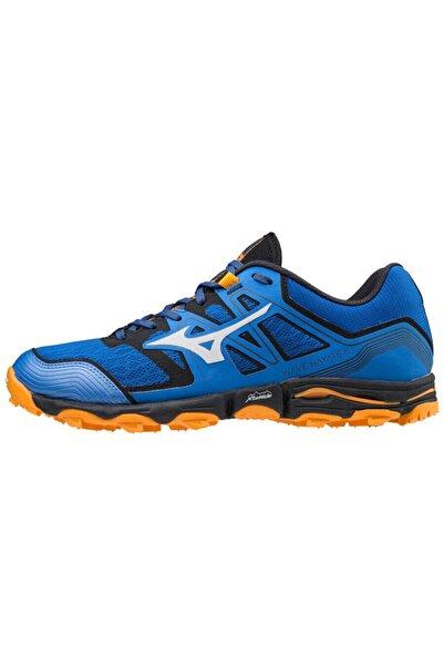 MIZUNO Wave Hayate 6 Erkek Koşu Ayakkabısı Mavi/turuncu