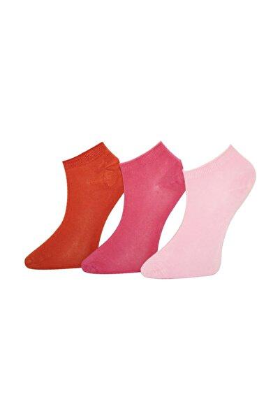ADABELLA Kadın 12 Çift Karışık Renk Bambu Dikişsiz Soket Kısa Çorap