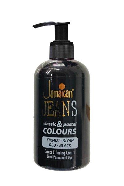 Jamaican Jean's Kırmızı-Siyah Color Saç Boyası