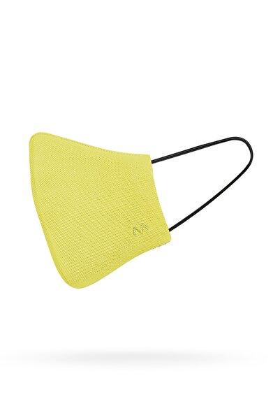 Hemington Pamuk Yıkanabilir Sarı Triko Maske