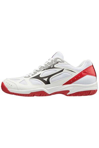 MIZUNO Cyclone Speed 2 Unisex Voleybol Ayakkabısı Beyaz / Kırmızı