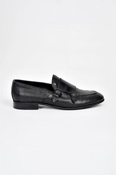 Avva Erkek Siyah Klasik Ayakkabı A91y8027