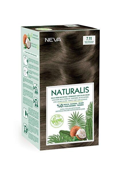 NEVA KOZMETİK Naturalis Saç Boyası 7.11 Yoğun Küllü Kumral %100 Vegan