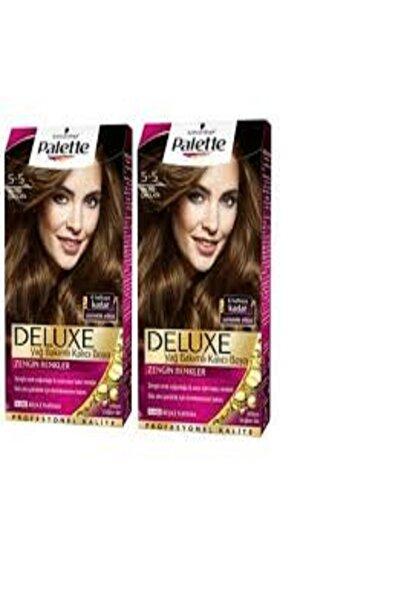 Palette Deluxe 5-5 Işıltılı Çikolata X 2 50ml