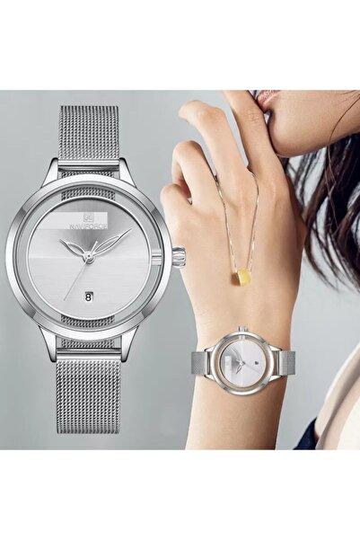 Naviforce Nf5014 Analog Çelik Kordon Kadın Kol Saati