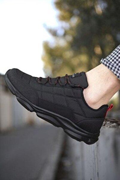 Siyah Kırmızı Erkek Sneaker 00121310