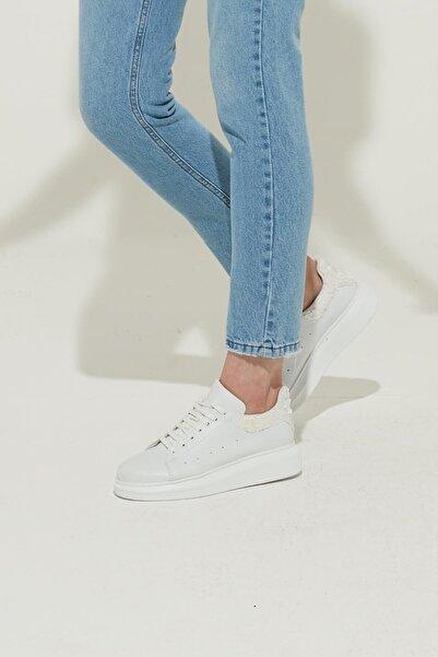 ZİNDİ Kadın Sneaker Spor Ayakkabı Beyaz