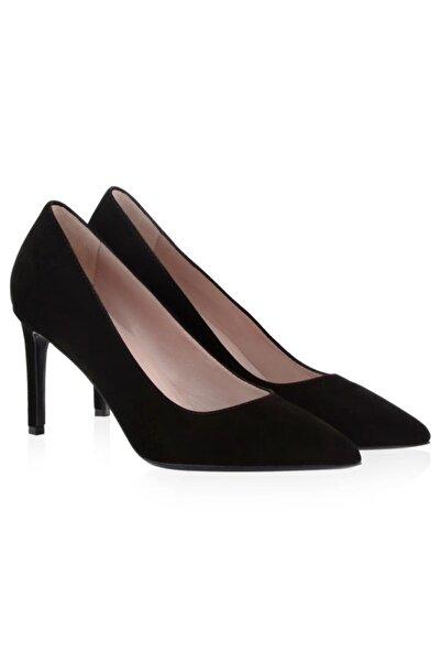 Nursace Hakiki Deri Klasik Topuklu Ayakkabı Nsc19y-a57101