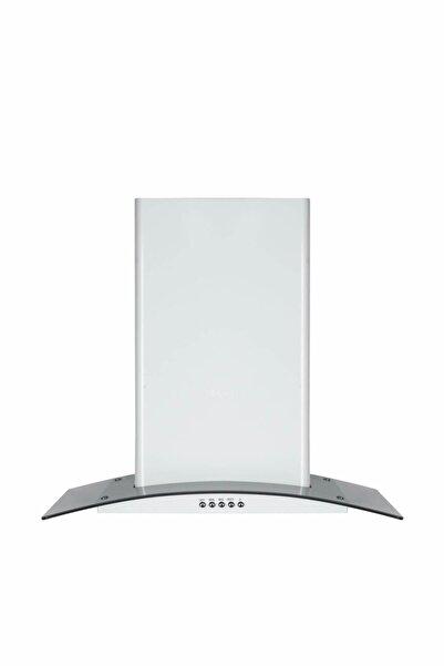 Oscar T5632sm 60 Cm. Dekoratif Füme Camlı Beyaz Davlumbaz