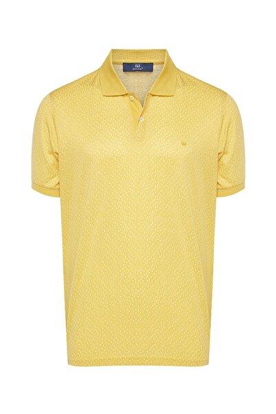 Bisse Regular Fit Desenli Polo Yaka T-shirt