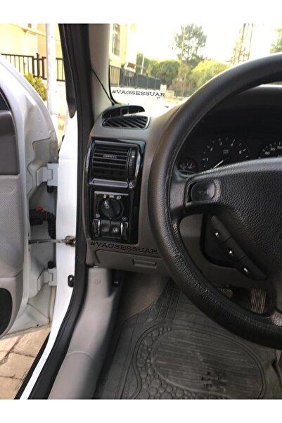 VAGSESSUAR Opel Astra G (1998-2004) Parlak Siyah Konsol Kaplama Manuel Vites (piano Black)