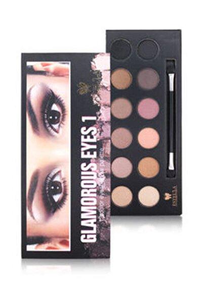 Estella Makyaj - Renkli Göz Farı -naturel Görünüm -far Glamorous - Ey-4065