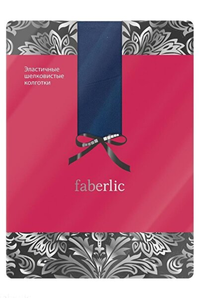 Faberlic Lacivert Esnek Külotlu Çorap L 82774