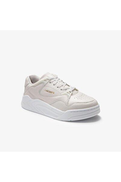 Lacoste Court Slam 0320 2 Sfa Kadın Deri Beyaz Sneaker 740SFA0014
