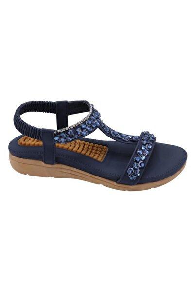 Guja 20y231-6 Laci Kadın Yastık Taban Kolay Giyim Sandalet