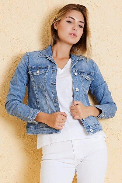 Twister Jeans Kadın Bm J50-01 (T) Mavı