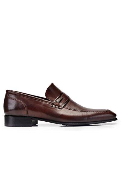 Nevzat Onay Hakiki Deri Kahverengi Günlük Loafer Neolit Erkek Ayakkabı -11441-