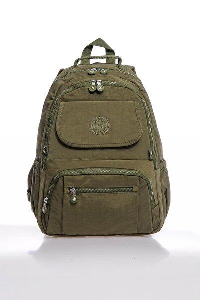 SMART BAGS Smbky1215-0029 Koyu Yeşil Kadın Sırt Çantası