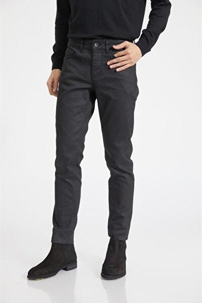 Avva Erkek Siyah Slim Fit Jean Pantolon E003503