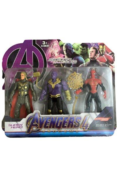 MARVEL Avengers Kahraman Oyuncak Figürler Thor Thanos Spiderman