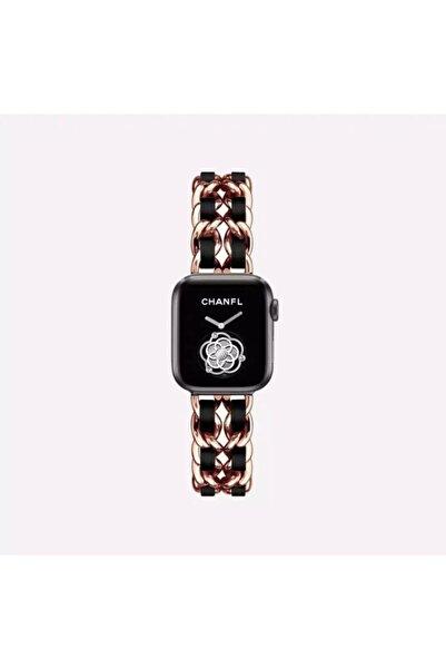 UMD Apple Watch 1 2 3 4 5 6 Ve Se Serisi 38-40mm Şık Metal Örgü Kordon