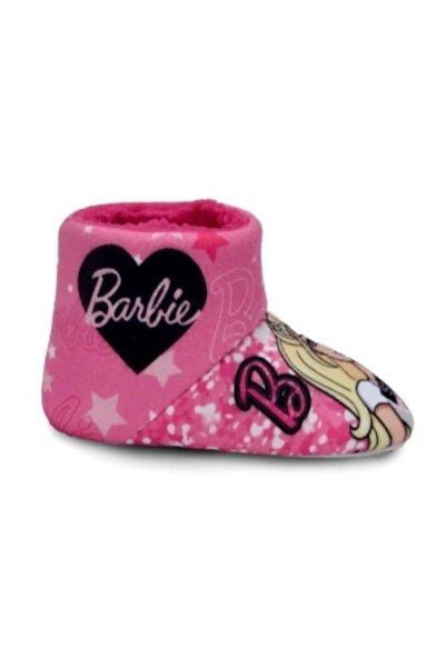 Barbie Pembe Altı Kaydırmaz Kız Çocuk Panduf