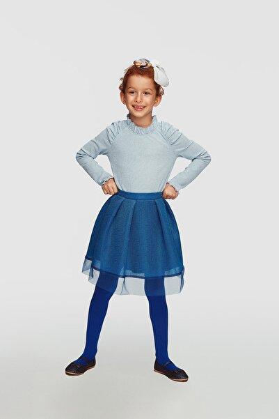 Lia Lea Kız Çocuk Mavi Bluz 20fwll03522