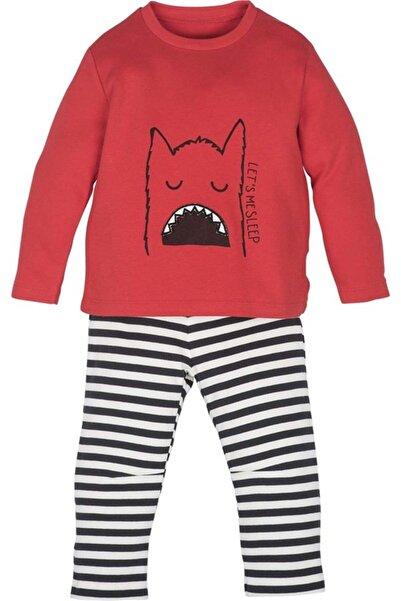 İDİL BABY Pijama Takımı Mamino Kırmızı