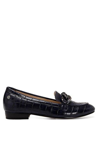 Nine West Croma Lacivert Kadın Loafer Ayakkabı