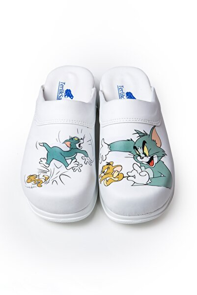 TERLİKSABO Özel Tasarım Tom Ve Jerry Sabo Terlik