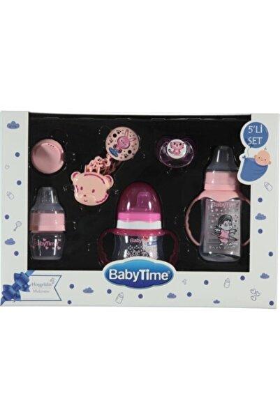 Babytime Baby Time Bebek Biberon 5'li Set Pembe Renk