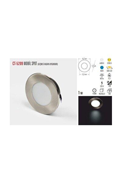 Cata 1w Cob Ledli Mobil Spot (G.ışığı)
