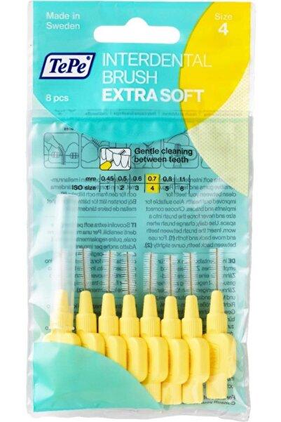 TePe Ekstra Soft Yumuşak Arayüz Fırçası 0.7 Mm Sarı 8 Li